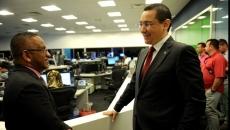 Victor Ponta la postul de televiziune Al Jazeera