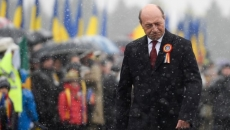 Basescu in lacrimi