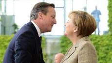 David Cameron şi Angela Merkel