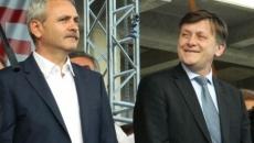 Crin Antonescu si Liviu Dragnea