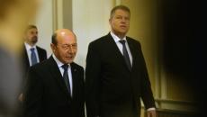 Traian Băsescu şi Klaus Iohannis
