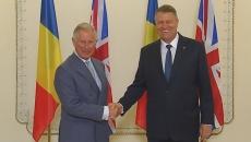 Prinţul Charles şi Klaus Iohannis