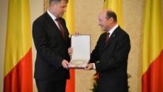 Klaus Iohannis şi Traian Băsescu