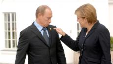 Merkel şi Putin