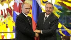 Putin şi Raul Castro