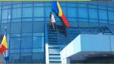 dacul cu steag