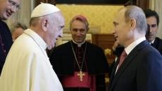 Papa Francisc şi Vladimir Putin