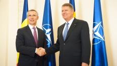 Klaus Iohannis şi Jens Stoltenberg