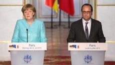 Angela Merkel şi Francois Hollande