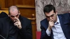 Yanis Varoufakis şi Alexis Tsipras