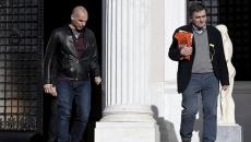 Yanis Varoufakis şi Euclid Tsakalotos