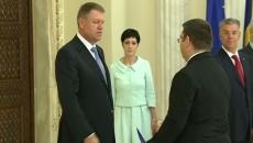 Iulian Matache a depus jurământul la Palatul Cotroceni