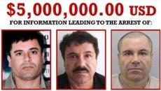 Recompensa pentru capturarea lui Joaquin Guzman