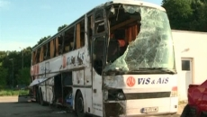 Autocarul din Bulgaria care s-a răsturnat pe A2, supus unei expertize tehnice
