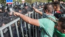 Ciocniri între forţele de ordine ungare şi imigranţi