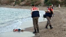 Copil sirian găsit mort pe plajă