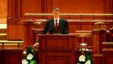 Klaus Iohannis, în Parlament