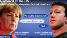 merkel si zuckerberg