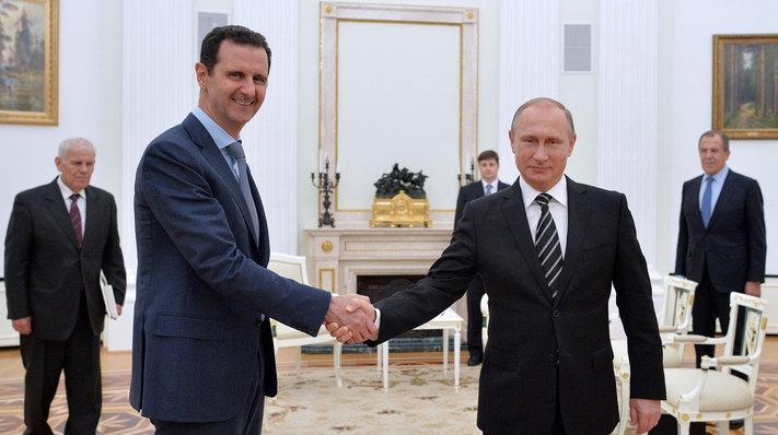 Bashar al-Assad şi Vladimir Putin
