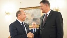 Valeriu Streleț şi Klaus Iohannis