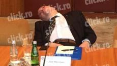 Dan Mihalache dormind