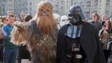Personaje din Star Wars la alegerile din Ucraina