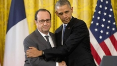 Francois Hollande şi Barack Obama