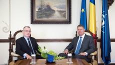 Klaus Iohannis şi Sorin Cîmpeanu