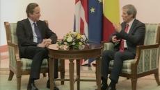 David Cameron şi Dacian Cioloş