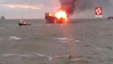 incendiu marea caspica