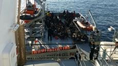 Imigranţi salvaţi de o navă românească