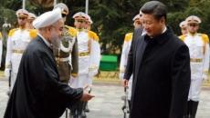 Hassan Rohani şi Xi Jinping