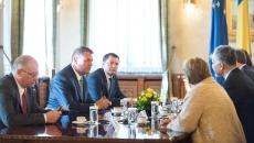 Klaus Iohannis şi delegaţia Băncii Mondiale