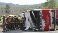 Autocar accident