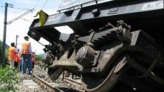 Tren deraiat