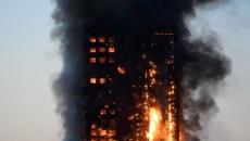 Bloc Londra incendiu
