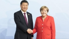 Merkel si presedintele Chinei