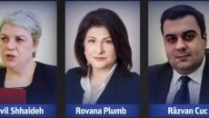 Sevil Shhaideh, Rovana Plumb şi Răzvan Cuc