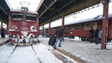 Tren intarziat