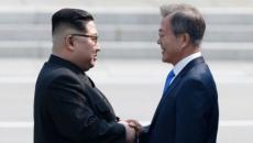 Kim Jong-un şi Moon Jae-in