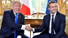 Trump si Macron