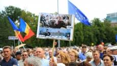 Moldova protest