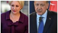 Recep Tayyip Erdogan si Viorica Dăncilă