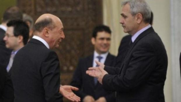 Dragnea si Basescu