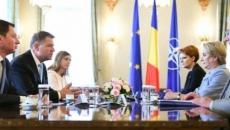 Klaus Iohannis si Viorica Dăncilă