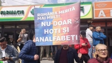 Protest anti-PSD