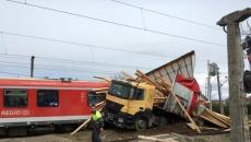 Accident tir tren