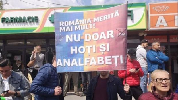 Protest anti-PSD