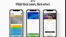 Apple Pay a fost implementat de 10 bănci din România din iunie 2019