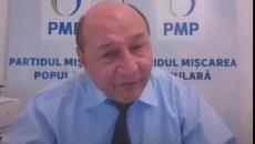 Candidatul PMP la Primăria Capitalei, Traian Băsescu